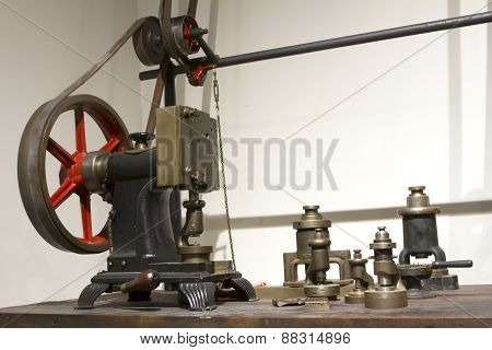Antique Watchworks Machinery