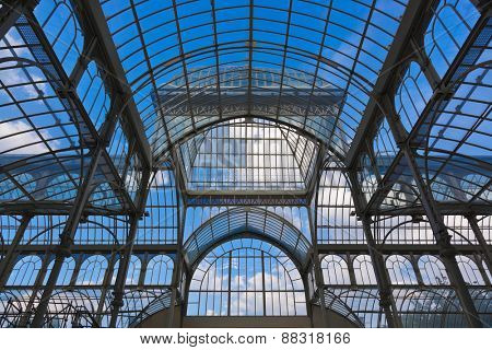 Crystal Palace at Retiro park - Madrid Spain
