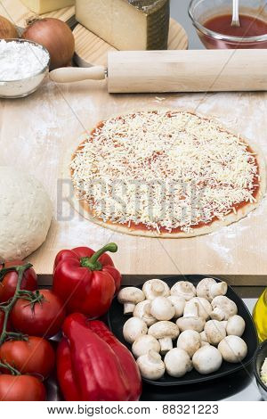 Pizza preparation