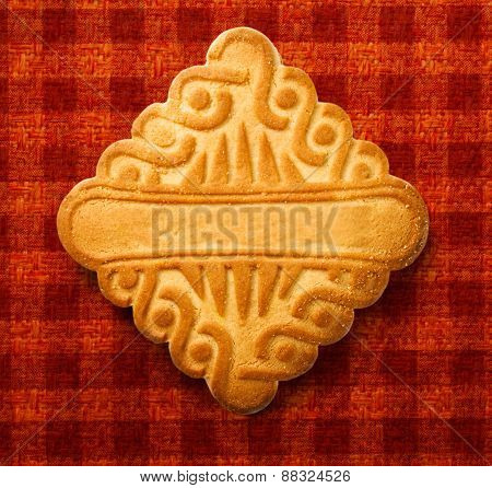 Single Square Biscuit