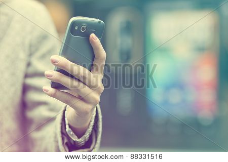 Cell Phone In Hand