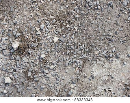 Destruction Of The Old Asphalt