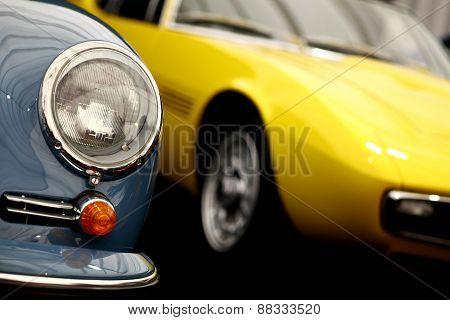Vintage Headlight