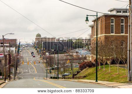 Town Of Albermarle In North Carolina