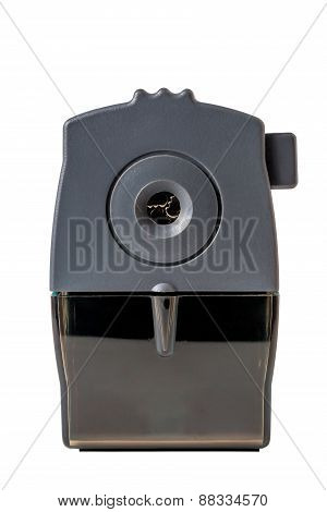 Mechanical Pencil Sharpener Isolated Closeup