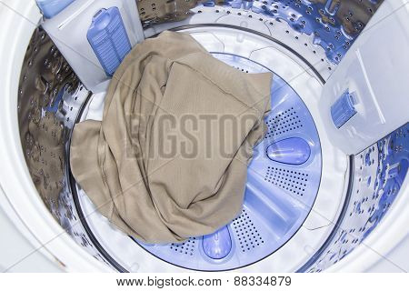 In A Washing Machine