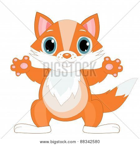 Illustration Of Cute Cat