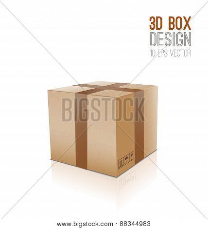 Cardboard Vector Box