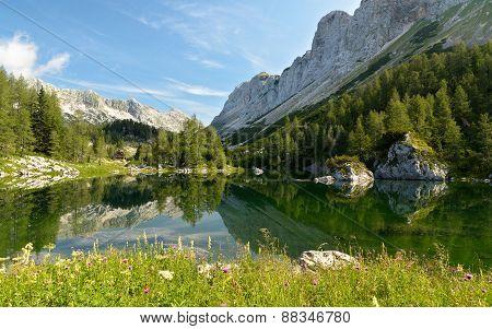 Lake Triglav, Slovenia