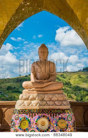 Buddha On The Mountain.