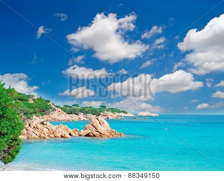 Rocky Beach On The Costa Smeralda, Italy