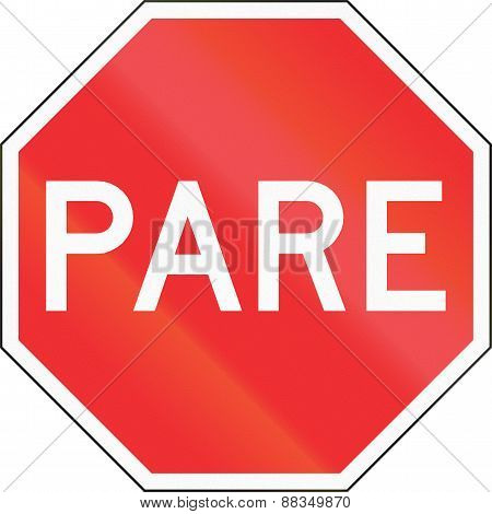 Pare Sign In Chile