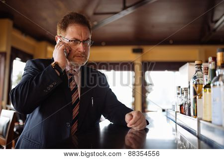 Calling from the bar