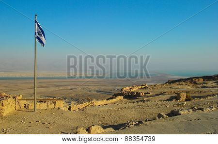 Masada fortress in Israel