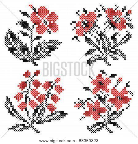 Set Of Ornaments