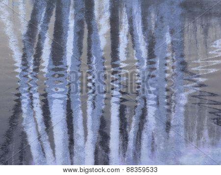 abstarct blue stripes