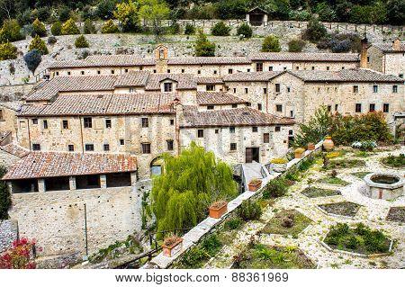 Franciscan Hermitage In Cortona, Italy