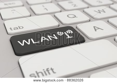 Keyboard - Wlan - Black