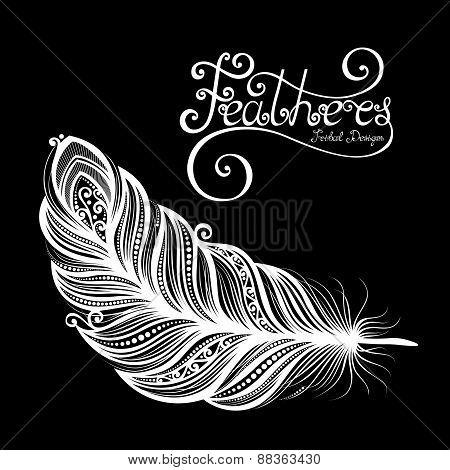 Vector Peerless Decorative Feather