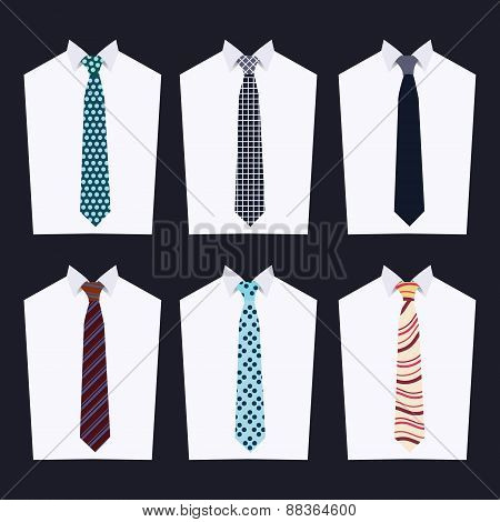 Fashion Of Different Neckties