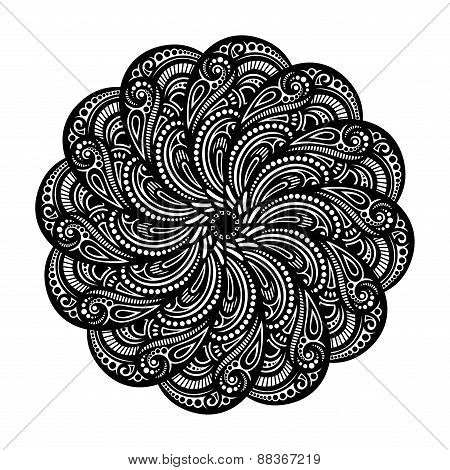 Beautiful Deco Mandala (vector)
