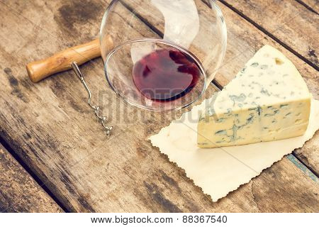 Blue Cheese Background.