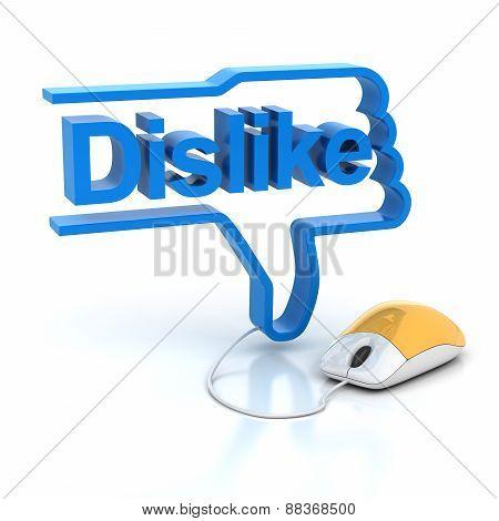 Dislike symbol