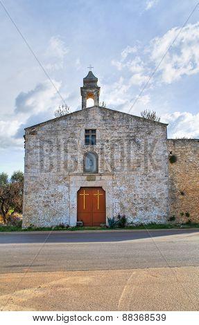 Church of Madonna del Serto. Bitritto. Puglia. Italy.