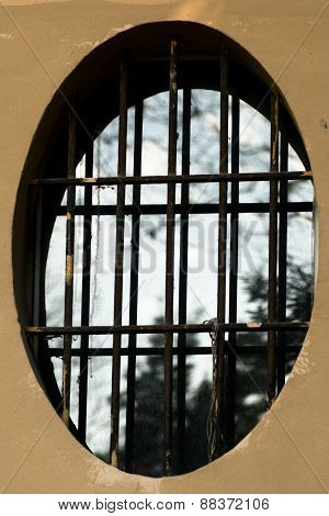 Oval Window With Grille