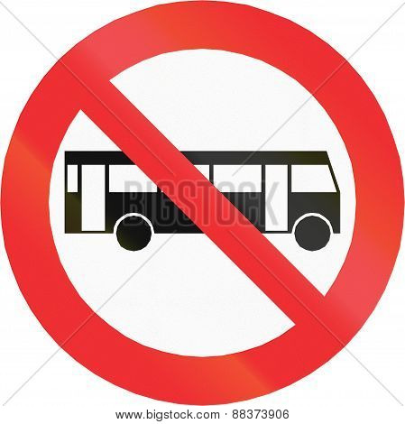 No Busses In Chile