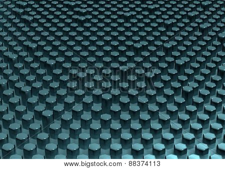 Honeycombs Structure Background