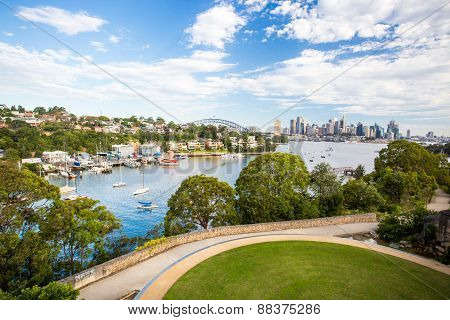 Sydney Skyline from Waverton Peninsula Reserve