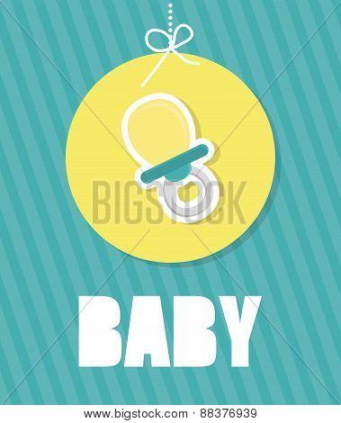 Baby shower design.