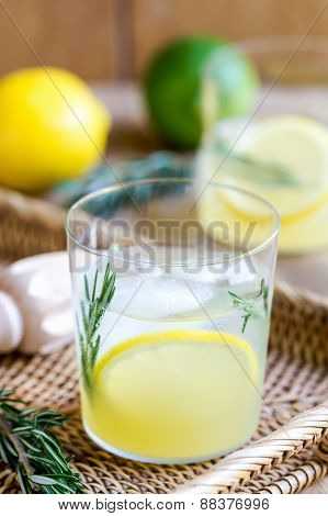 Lemonade With Rosemary