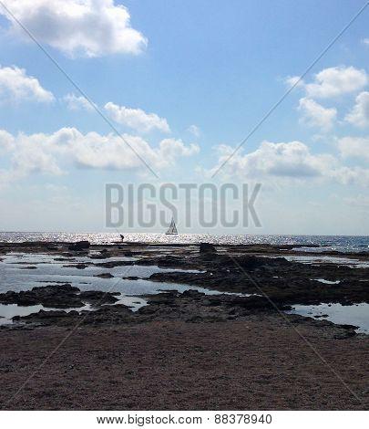 Akko Beach View