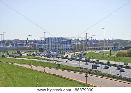 Traffic On The Brussels Ring
