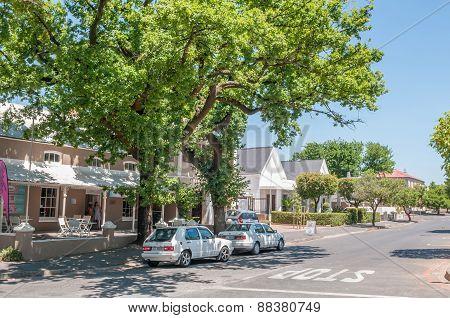 Street Scene In Paarl