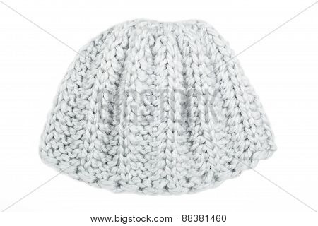 Woolen Cap Isolated On White Background