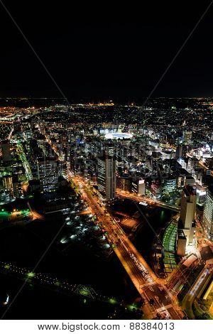 Yokohama Minato Mirai Night View