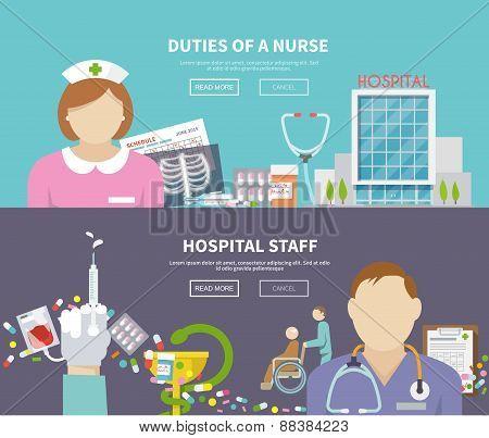 Nurse Banner Set