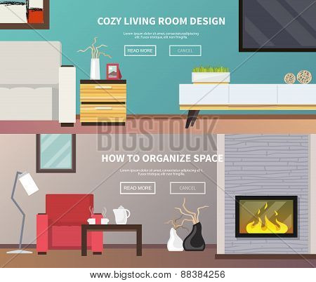 Living Room Furniture Banner