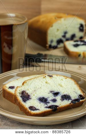 Lemon Bluberry Bread