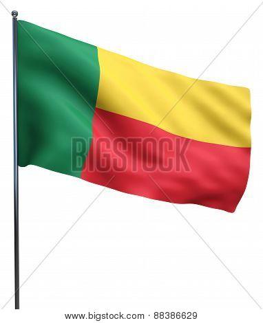 Benin Flag Image