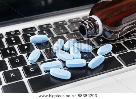 Medicine On Keyboard
