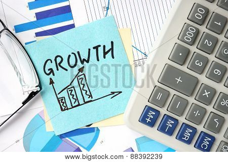 Business Growth concept.
