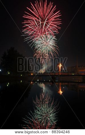 Fireworks In The City