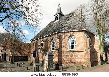 Netherlands - Bronckhorst - Circa March 2015: Reformed Church In The Smallest City In The Netherland