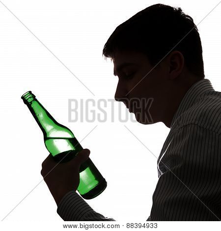 Man In Alcohol Addiction