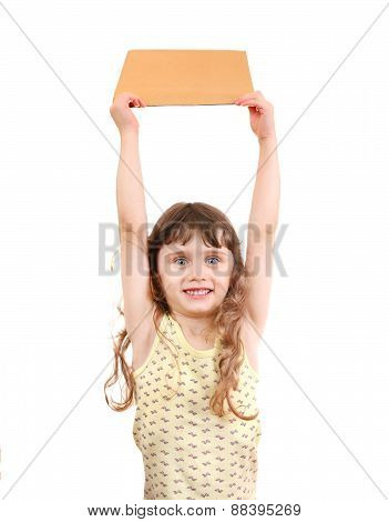 Little Girl With The Board