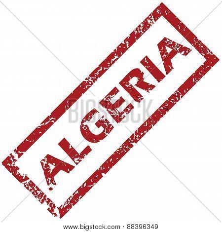 New Algeria rubber stamp